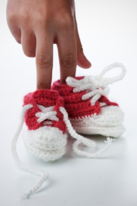 knitted booties_b